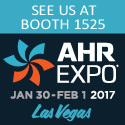 AHR Expo Jan 30 - Feb 1, 2017